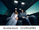 business man and woman... | Shutterstock . vector #1115016983