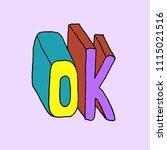printed tee  typography... | Shutterstock .eps vector #1115021516