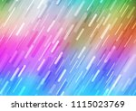 light multicolor  rainbow... | Shutterstock .eps vector #1115023769