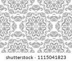orient vector classic pattern.... | Shutterstock .eps vector #1115041823
