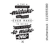 inspirational quote  motivation.... | Shutterstock .eps vector #1115055380