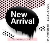 modern promotion square web... | Shutterstock .eps vector #1115057309