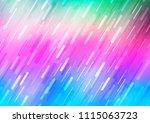 light multicolor  rainbow... | Shutterstock .eps vector #1115063723