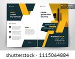 multipurpose vector layout... | Shutterstock .eps vector #1115064884