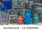 editorial use only  cooking gas ... | Shutterstock . vector #1115065484