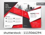 multipurpose vector layout... | Shutterstock .eps vector #1115066294