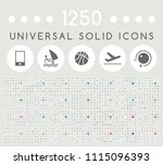 Set Of 1250 Elegant Universal...