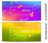 abstract gradient background... | Shutterstock .eps vector #1115100299