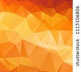 abstract orange polygon texture ... | Shutterstock .eps vector #1115106806
