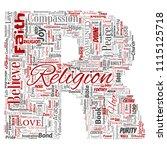 vector conceptual religion  god ...   Shutterstock .eps vector #1115125718