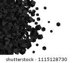vector geometric background... | Shutterstock .eps vector #1115128730