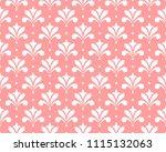 flower geometric pattern.... | Shutterstock .eps vector #1115132063