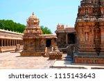 chandikesvara temple on the...   Shutterstock . vector #1115143643