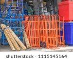 editorial use only  keg barrows ... | Shutterstock . vector #1115145164