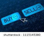 the modern banner of internet... | Shutterstock .eps vector #1115145380