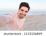 photo of handsome happy young... | Shutterstock . vector #1115156849