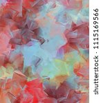 hand drawn abstract background... | Shutterstock . vector #1115169566
