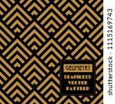 geometric seamless vector... | Shutterstock .eps vector #1115169743