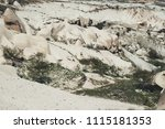 view of tuff rocks of love... | Shutterstock . vector #1115181353