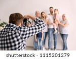 professional photographer... | Shutterstock . vector #1115201279