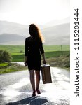 woman photo traveling in the... | Shutterstock . vector #1115201444
