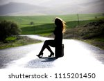 woman photo traveling in the...   Shutterstock . vector #1115201450