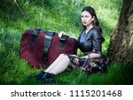 woman photo traveling in the... | Shutterstock . vector #1115201468