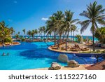mexico  cancun   february 15 ... | Shutterstock . vector #1115227160