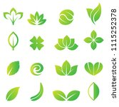Leaf Logo Icon Collection
