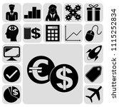 set of 17 busineset of 17... | Shutterstock .eps vector #1115252834