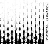 black and white grunge stripe... | Shutterstock . vector #1115255543