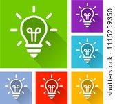 illustration of light bulb...   Shutterstock .eps vector #1115259350