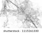 geometric low polygonal... | Shutterstock .eps vector #1115261330