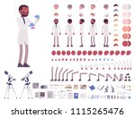 scientist character creation... | Shutterstock .eps vector #1115265476