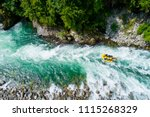 White Water Rafting On Alpine...
