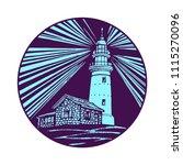 lighthouse  beacon  pharos...   Shutterstock .eps vector #1115270096