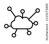 ubiquitous computing icon | Shutterstock .eps vector #1115271800
