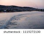 view of city of mytilene in... | Shutterstock . vector #1115272130