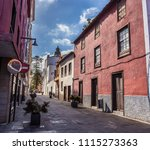 street view from the old city...   Shutterstock . vector #1115273363