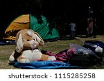 refugees and migrants in a... | Shutterstock . vector #1115285258