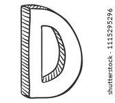 vector single sketch...   Shutterstock .eps vector #1115295296