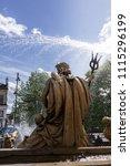 cheltenham  gloucestershire  01 ... | Shutterstock . vector #1115296199