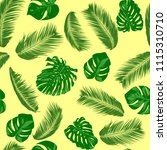 seamless pattern with vector... | Shutterstock .eps vector #1115310710