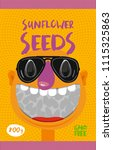packing for sunflower seeds | Shutterstock .eps vector #1115325863