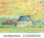 Village House With A Village I...