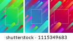 bright backgrounds with frame... | Shutterstock .eps vector #1115349683