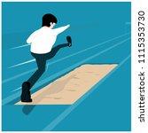 vector illustration business... | Shutterstock .eps vector #1115353730