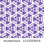 seamless pattern with symmetric ... | Shutterstock .eps vector #1115355014