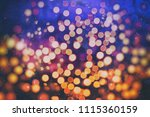 abstract light celebration... | Shutterstock . vector #1115360159