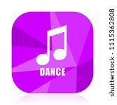 dance music violet square...   Shutterstock .eps vector #1115362808
